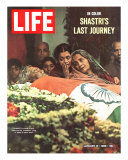 Shastri's Last Journey  Funeral of Indian PM Lal Bahadur Shastri  January 21  1966