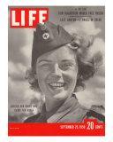 Swedish Red Cross Worker Ingrid Jarnald  September 25  1950