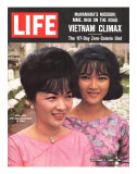 Vietnam's Madame Nhu and Daughter  October 11  1963