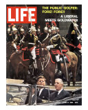 Photo of Pres Kennedy and Gen De Gaulle  During Trip to Paris  June 9  1961