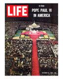 Pope Paul VI Visit to America  Mass at Yankee Stadium  October 15  1965