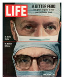 Dr Denton Cooley and Dr Michael Debakey  April 10  1970