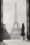 Paris 1928 Reproduction d'art par Hugo Wild
