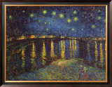 Starry Night over the Rhone  c1888