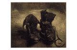 Still Life of Shoes Reproduction d'art par Vincent Van Gogh