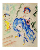 Dancer with a Blue Skirt