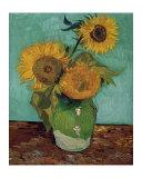 Sunflowers, First Version Reproduction d'art par Vincent Van Gogh