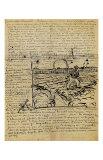 Sketch of the Sower in a Letter to Emile Bernard Giclée par Vincent Van Gogh