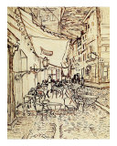 Study for the Cafe Terrace at Night