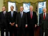 President-elect Barack Obama with All Living Presidents  January 7  2009