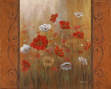 Poppies & Morning Glories II