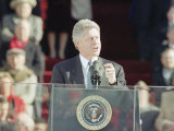 President Bill Clinton Delivers His First Inaugural Address  January 20  1993