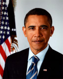 Barack Obama 2009 Official Portrait