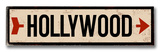 Hollywood arrow