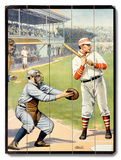 US Baseball at the Plate &#39;Batter Up!&#39; Poster
