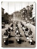 Motorcycle Race At San Remo