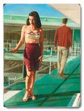 Caribbean Motel Pin Up Girl
