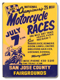 Motorcycle Races  San Jose