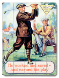 Motivational Work and Save Golf