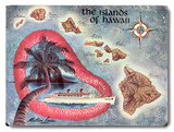 The Islands of Hawaii Map
