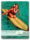 Surfer Girl - Buoyant Riding Waikiki