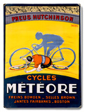 Meteor Bicycle Poster