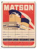 Matson Lines Oceanic Line