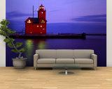 Big Red Lighthouse  Holland  Michigan  USA