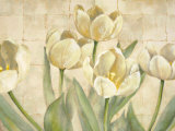 White Tulips on Ivory