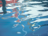 Reflection on the Rippling Surface of Water in Magdalen Island  Quebec  Canada