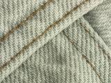 Close-Up of Denim Pants Pocket Stitching
