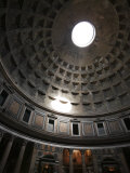 Dome of the Pantheon in Rome  Italy