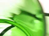 Abstract Motion Blurred Green Background
