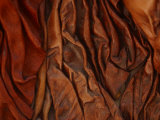Close-Up of Wrinkled Brown Leather