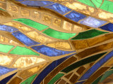 Close-Up of a Stained Glass Artwork  Thailand
