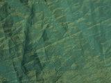 Crinkled Aqua Green Background