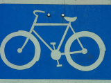 Metal Bicycle Sign