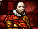 Ornately and Elaborately Decorative Stained Glass Windows of Shakespeare