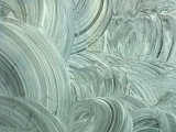 Swirled White Painted Textured Background