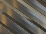 Shiny Corrugated Metal