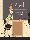 Teacher Worried on April Fools Day