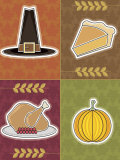 Four Objects of Thanksgiving Holiday
