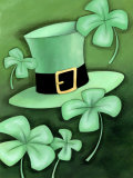 Saint Patrick&#39;s Day Shamrocks by Hat