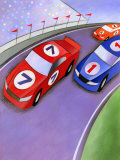 Car Race with Spectators