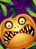 Scary Jack-O-Lantern