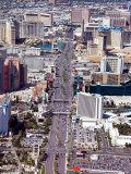Aerial View of Historic Las Vegas  Nevada