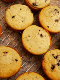 Delicious Baked Muffins on Cooling Rack