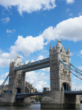 Historical Landmark of Tower Bridge in London  England