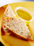 Traditional Food of Bread with Olive Oil