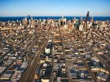 Aerial View of Grandiose City of Chicago  Illinois
